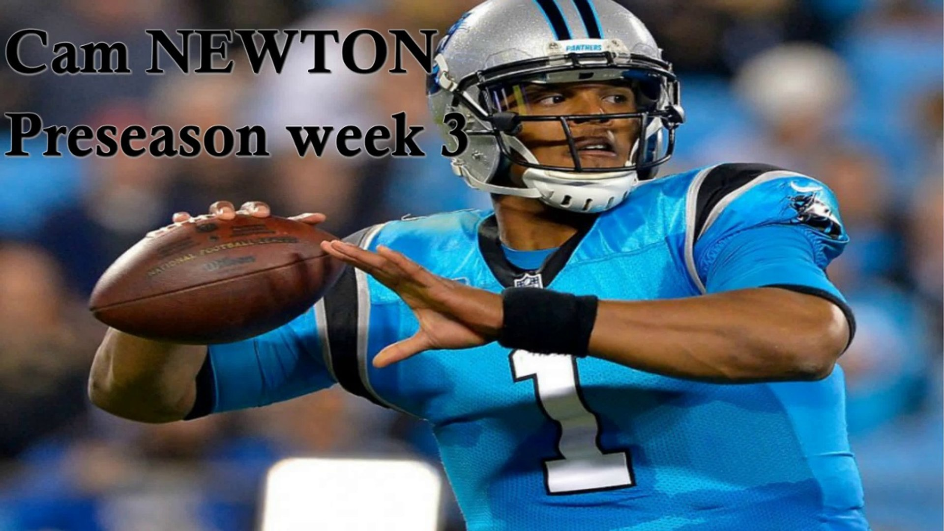 Cam NEWTON vs PATRIOT Preseason Week 3 - Highlights NFL 2018