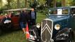 Plus de 100 voitures anciennes exposées