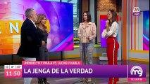 ¡Jhendelyn Núñez y Paula Bolatti jugaron el #JengaDeLaVerdad! - Mucho gusto 2018