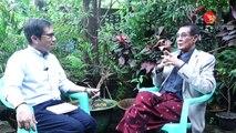 Video ေမာင္စိန္ဝင္း (ပုတီးကုန္း) ႏွင့္ အတူ ေသာကေျခရာကုိ ရွာေဖြျခင္း (႐ုုပ္/သံ)ဧရာဝတီ၊ ၾသဂုုတ္ ၂၅၊ ၂၀၁၈၁၉၉၀ ခုႏွစ္ တ၀ုိက္က လူငယ္ေတြအေပၚ ကဗ်ာ၊ စာေပနဲ႔ လႊမ္းမုိးမႈ ရ