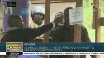 Nuevo brote de Ébola en el Congo ha dejado 67 muertos