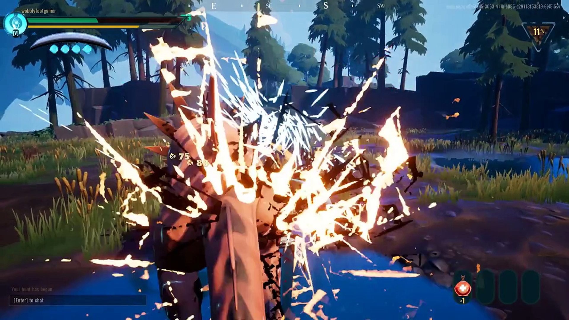 wobblyfootgamer  Dauntless  Part 4  Glowing Embers  Defeat Rogue Embermane