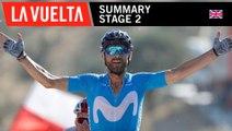 Summary - Stage 2 - La Vuelta 2018