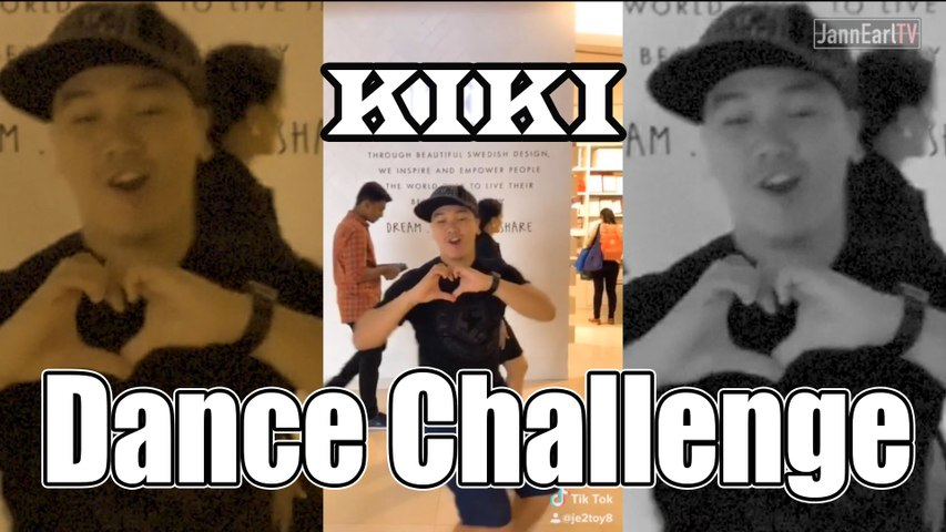 Kiki Dance Challenge in Public in Singapore