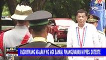 Pagdiriwang ng Araw ng mga Bayani, pinangunahan ni Pres. #Duterte