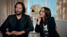 "Keanu Reeves on Winona Ryder: ""I Mean We Like Each Other"""