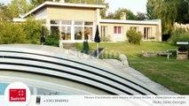 Maison d'architecte sans voisins et grand terrain + dépendance ou atelier