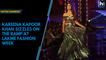 Kareena Kapoor Khan sizzles on the ramp at Lakme Fashion Week