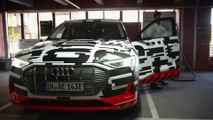 Audi e-tron prototype - Fully charged in nearly 30 minutes