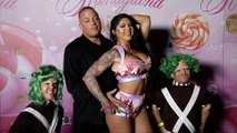 """Rob Van Dam and Katie Forbes """"The Return of Kandyland"""" Pink Carpet"""