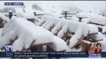 Il est tombé jusqu'à 30 cm de neige ce week-end dans les Alpes italiennes ❄