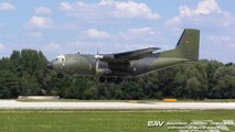 Transall C-160D ESS - German Air Force 50+76 - Touch and Go at Manching Air Base [2160p25]