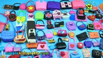 100+ Barbie Doll Miniature Purse, Handbag, Bag  Collection - Different Styles & Types