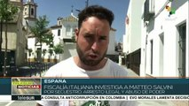 Acusa fiscalía italiana a Matteo Salvini de secuestrar a 130 migrantes