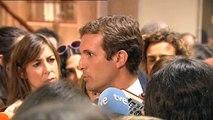 Casado pide a la Fiscalía que estudie querellarse contra el juzgado belga de la demanda a Llarena