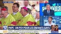 """Psy pour les enfants gays : les associations LGBT dénoncent des propos """"irresponsables"""" du pape François"""