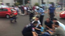 Motosiklet ve Bisikletin çarpışması sonucu iki kişi yaralandı