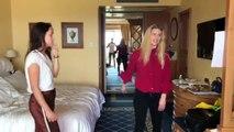 E anche questa volta proviamo in albergo.... ma con sorpresa!! A questo giro prepariamo una canzone con Auri!! (Poveri vicini)Questo e tanto altro nella pross