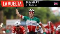 Summary - Stage 3 - La Vuelta 2018
