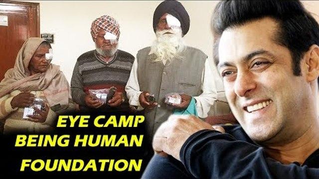 सलमान ने की 1200 लोगो की मदद , Being Human ने रखा हिमाचल प्रदेश में Eye Camp