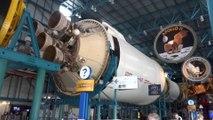 Saturn V, capsule Apollo au Kennedy Space Center