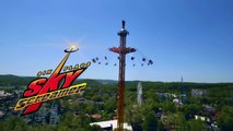 Six Flags SkyScreamer  Teaser Six Flags Darien Lake NEW 2019