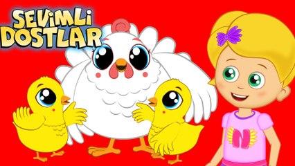 Üç Küçük Civciv - Sevimli Dostlar Çocuk Şarkıları | Okidokido