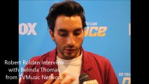 Robert Roldan of So You Think You Can  Dance Interview Season 15 (SYTYCD)
