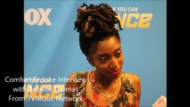 Comfort Fedoke of So You Think You Can Dance Interview (SYTYCD)