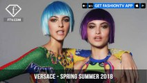 Versace Presents Spring/Summer 2018 Honoring Gianni Versace   FashionTV   FTV