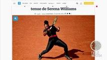 Roland Garros 2018, la combinaison de Serena Williams agite le tennis mondial