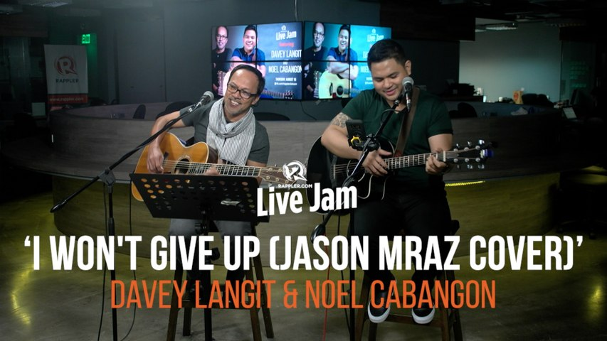Noel Cabangon and Davey Langit – 'I Won't Give Up' (Jason Mraz cover)