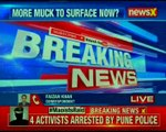 Maoists Raid: 4 activists arrested by Pune police; more arrests likely to happen