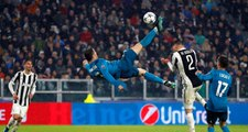 Ronaldo'nun Real Madrid Formasıyla Juventus'a Attığı Gol, UEFA Tarafından Yılın Golü Seçildi