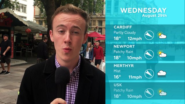 WEATHER: August 29th 2018