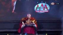 Jeff Jarrett (c) vs. Brian Cage vs. Fenix vs. Rich Swann AAA World Heavyweight Title Four Way Match AAA TripleMania XXVI