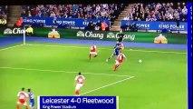 Premier but de Ghezzal avec Leicester
