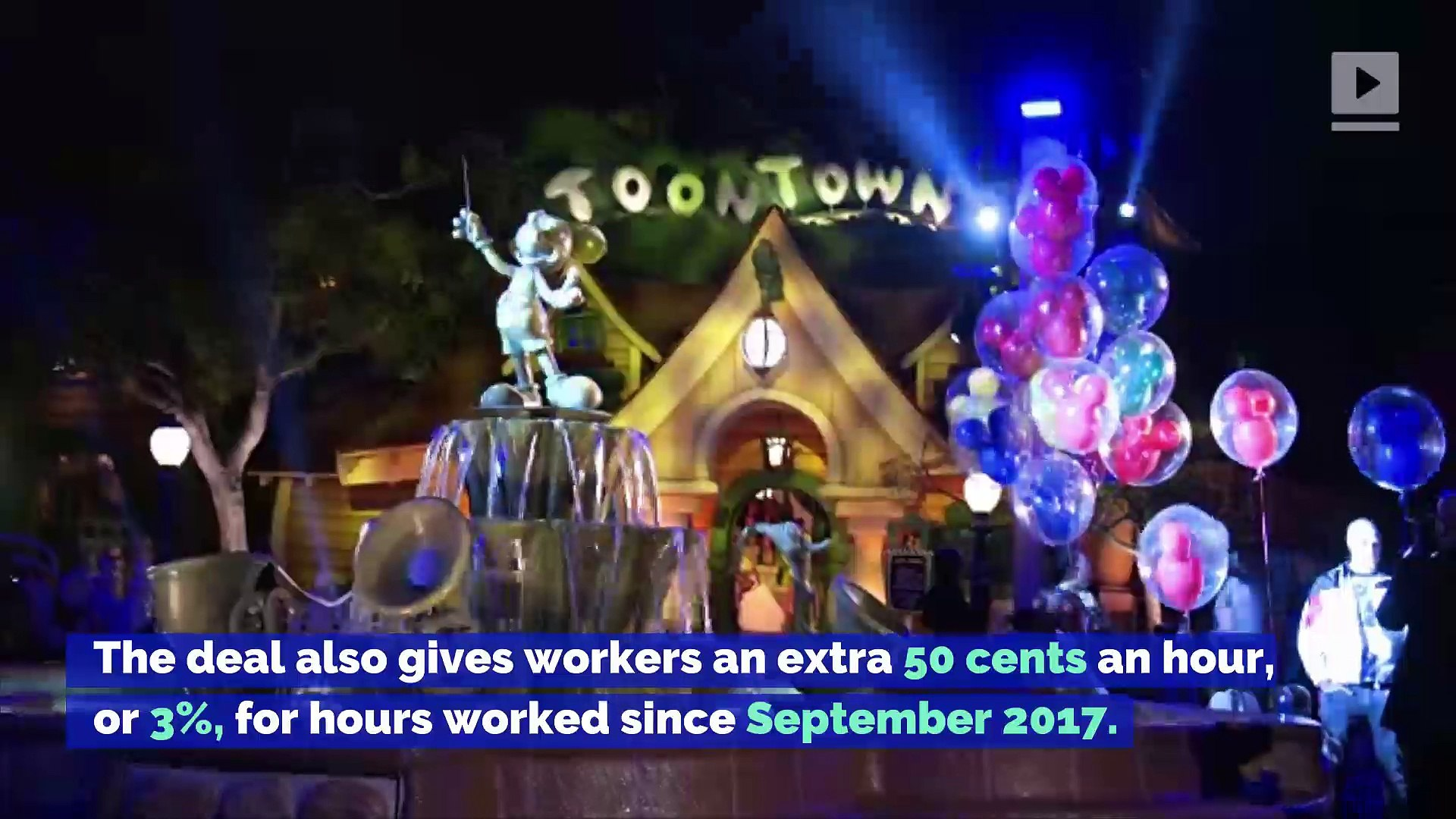 Disney Park Employees Win $15 Minimum Wage