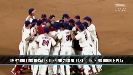 Jimmy Rollins on Turning Double Play to Clinch 2008 NL East Title
