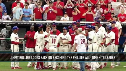 Jimmy Rollins on Becoming Philadelphia's All-Time Hits Leader
