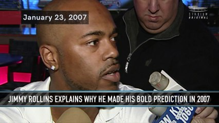 Jimmy Rollins Explains His Bold Prediction From 2007
