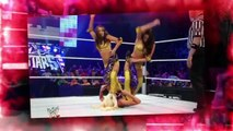 WWE SuperStars 2010 The Bella Twins vs Jillian & Maryse - WWE Diva Divas Wrestling Fight Fighting Match MMA Sports Brie Bella Nikki Bella