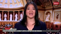 Asile et immigration : les temps forts du débat autour de la rétention puis la s - Les matins du Sénat (02/08/2018)