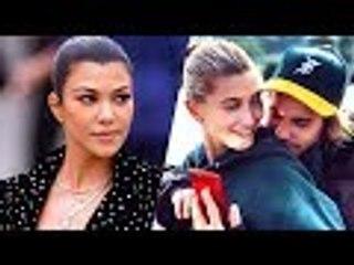 Hailey Baldwin Warns Single Kourtney Kardashian To Stay Away From Justin Bieber