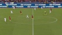 Le superbe but en talonnade de Javier Pastore pendant Roma VS Atalanta
