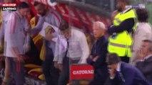 AS Rome : l'entraineur fou de rage se casse la main sur le banc (Vidéo)
