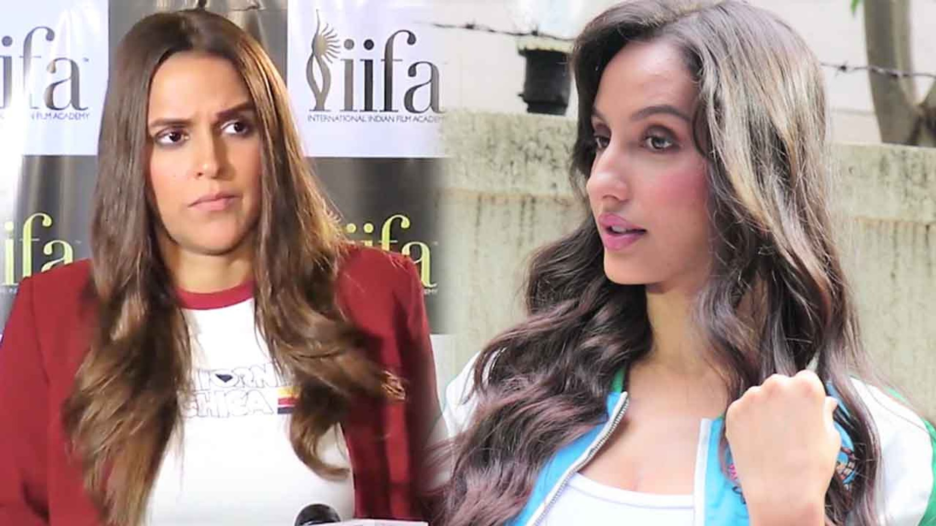Neha Dhupia & Angad Bedi's EX Nora Fatehi IGNORE each other at an event | FilmiBeat