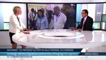 ៣១ កក្កដា ២០១៨ / 31 July 2018 - Yesterday's interview in Paris with French television TV5 Monde.បទសម្ភាសន៍ ម្សិលមិញ ជាមួយទូរទស្សន៍បារាំង TV5 Monde នៅទីក្រុងប៉
