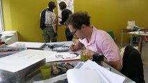 VIDEO. Poitiers : trois artistes en résidence à Chantier Public