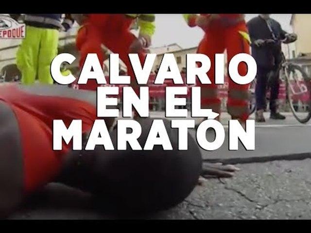 El calvario de Eliud Magut en el Maratón de Padova